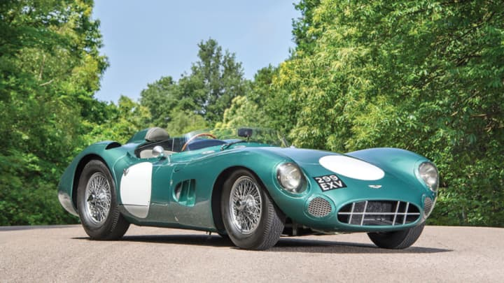 1956 Aston Martin DBR1 – RM Sotheby's – Estimate $20 million or more.