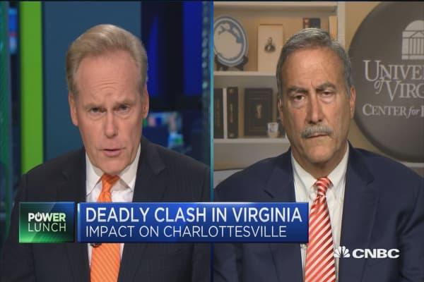 UVA director on impact of Charlottesville violence