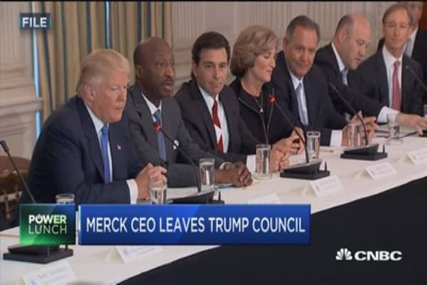 Merck CEO Ken Frazier focused on justice even before WH council resignation