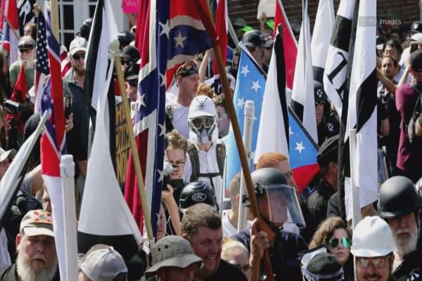Trump denounces white supremacists, 'racist' violence after criticism