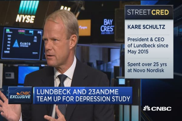 Lundbeck and 23andMe team up for depression study