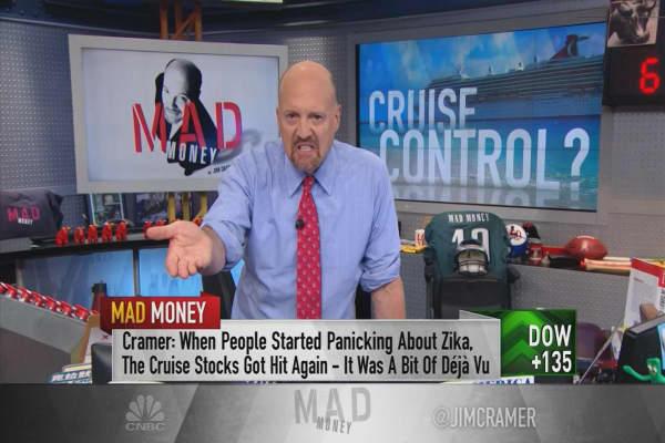 Cramer reveals where Goldman Sachs went terribly wrong on cruise stocks