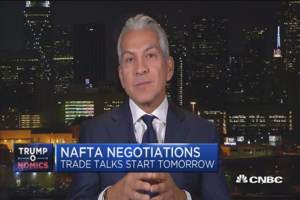 What's at stake in NAFTA talks...