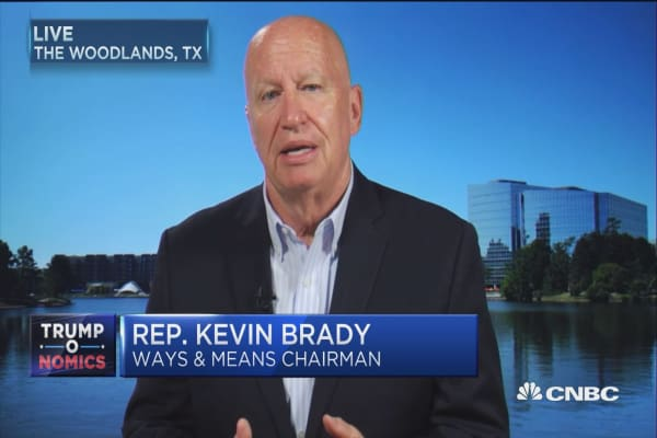 Rep. Brady: We are on track to deliver bold tax reform this year