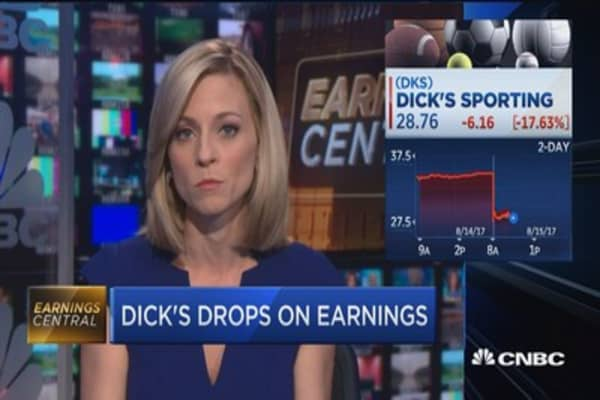 Dick's misses estimates