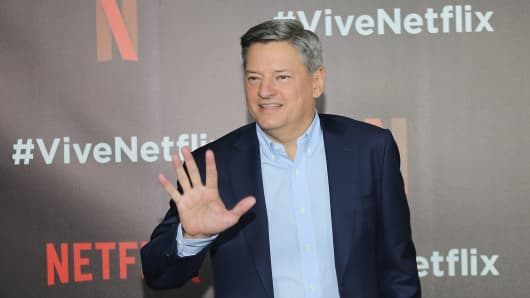 Netflix content executive director, Ted Sarandos attends the Vive Netflix 2017 at Museo Casa de la Bola on August 2, 2017 in Mexico City, Mexico.