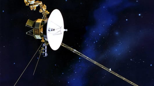 Voyager 1 is the first man-made object to leave our solar system and pass into interstellar space.