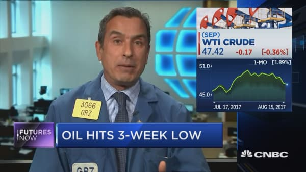 Oil hits a 3-week low, but one trader sees a crude comeback