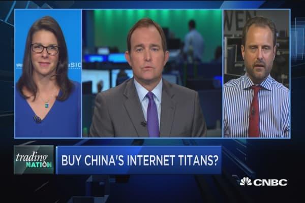 Trading Nation: Buy China's internet titans?