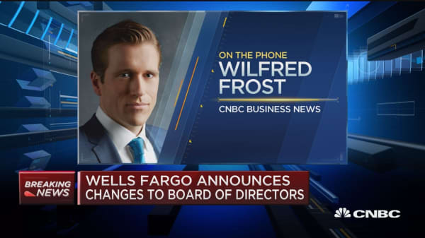 Wells Fargo announces changes to board of directors