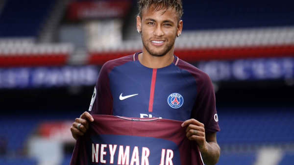 Neymar's $263 million transfer fee sets a world-record