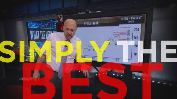 Cramer Remix: The one stock to buy into any real weakness