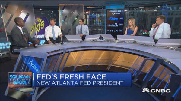 Atlantic Fed CEO: Businesses are optimistic but didn't change their plans