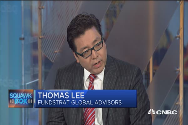 Tom Lee: 3 reasons to be optimistic about the markets