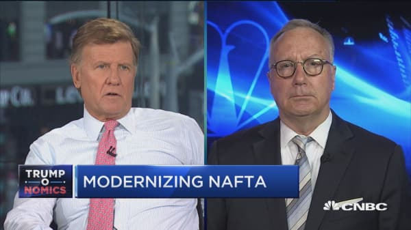 US needs to get back in the game and renegotiate NAFTA: C&M's Robert Holleyman