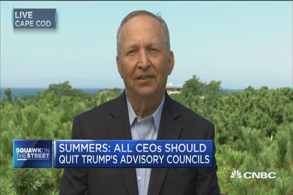 Full interview with Larry Summers