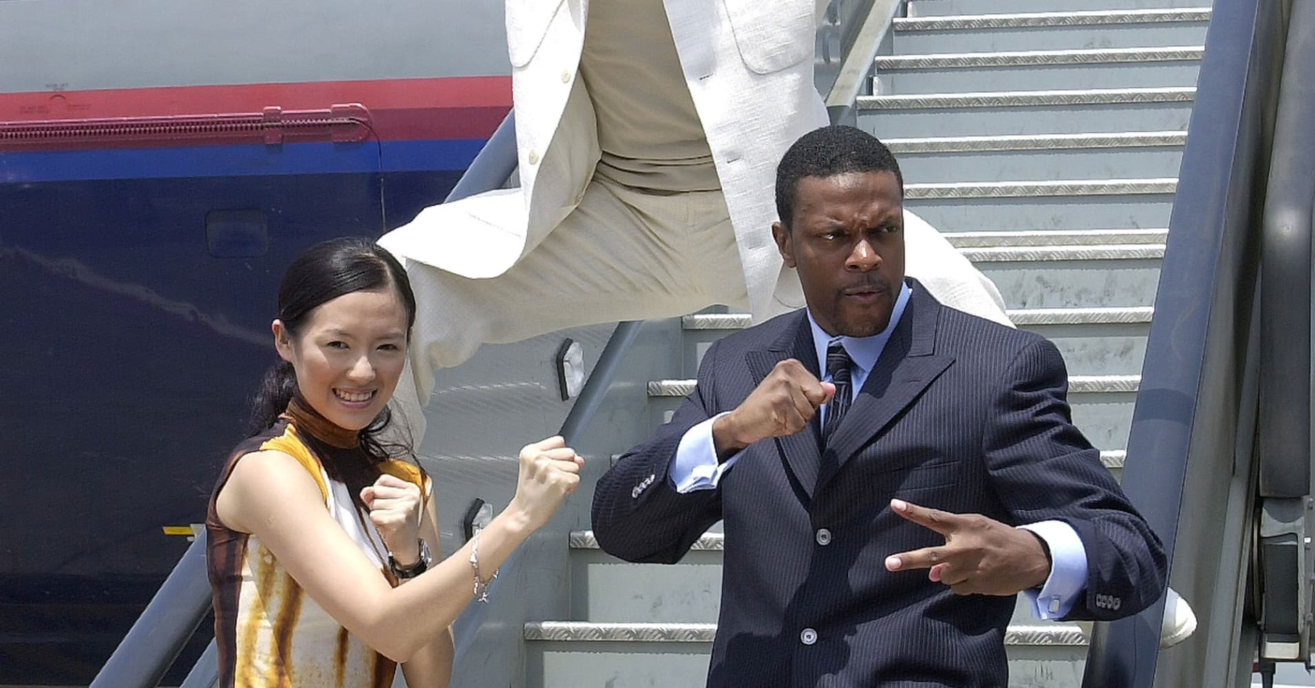 Chris Tucker, co-star of Rush Hour