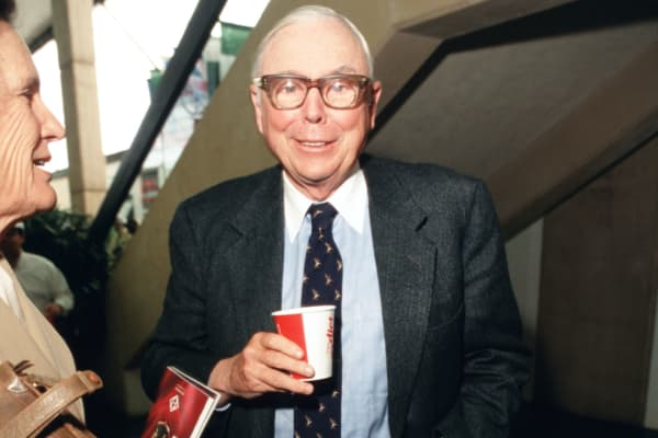 Berkshire Hathaway executive Charlie Munger