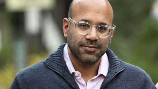 Niraj Shah, co-founder and chief executive officer of Wayfair