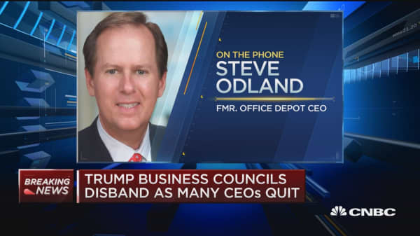 Biz leaders need to avoid putting themselves and their companies in harms way; focus on policy positions: Odland