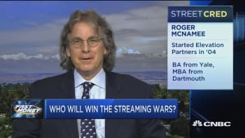 Tech legend Roger McNamee says a streaming bubble may be brewing