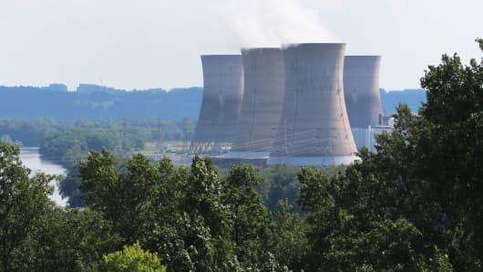 Three Mile Island nuclear power plant, Londonderry Township, Pennsylvania