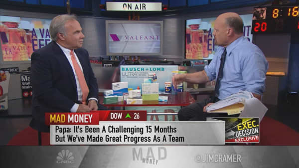 Valeant Pharmaceuticals CEO Joe Papa: 'It's been a challenging 15 months, but we've made great progress'
