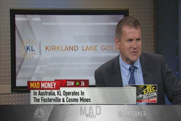 Kirkland Lake Gold CEO says gold prices should be higher given geopolitical tensions
