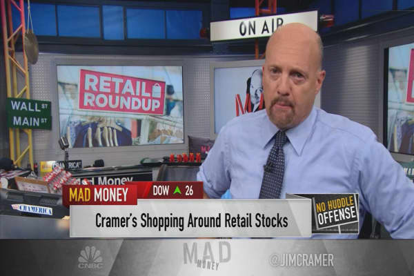 Cramer finds 3 retailers that can win in this new Amazon-plagued environment