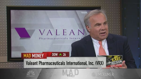 Valeant's Papa: 'It's been a challenging 15 months, but we've made great progress'
