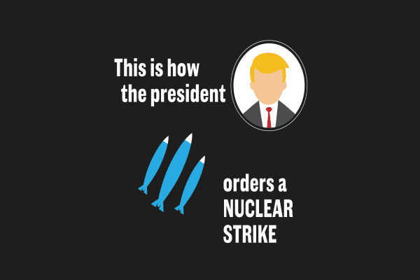 This is how the president orders a nuclear strike