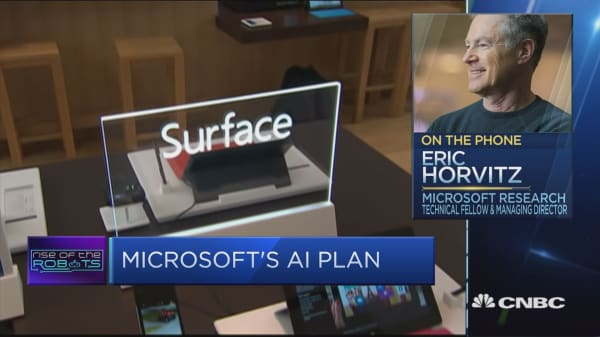 Microsoft: AI already inside products like Office 365