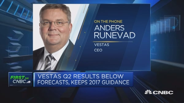 Vestas CEO: Will looks to stay at top of US market