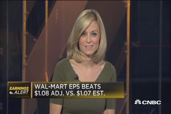 Wal-Mart tops Street, Q2 e-commerce merchandise volume up 67%