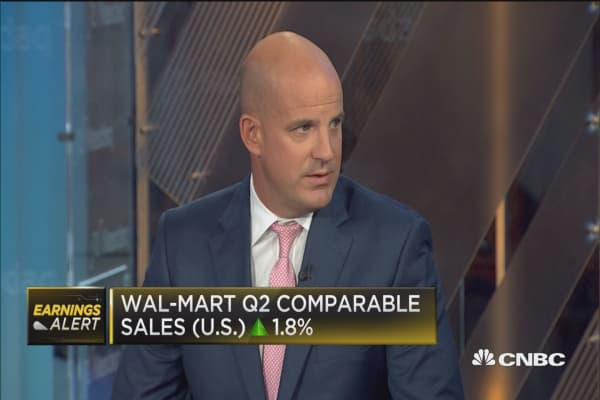 Expect 'muted' reaction to Wal-Mart's Q2 results: Gordon Haskett Research analyst