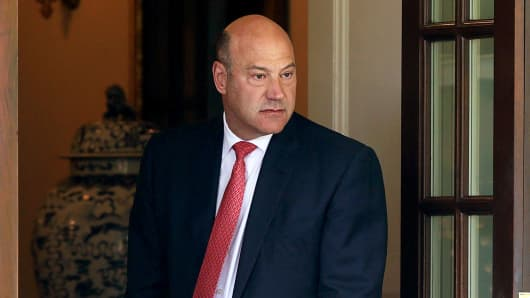 Gary Cohn Defies Nazis by Supporting Their Favorite President