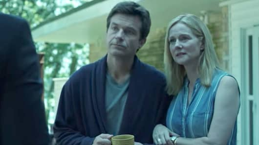 Jason Bateman and Laura Linney star in Netflix's series Ozark.