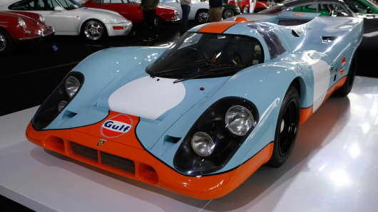 A 1970 Porsche 917K was estimated to fetch between $13 million and $16 million.