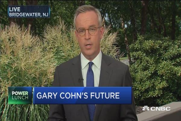 WH dismisses 'false' reports about Cohn's future