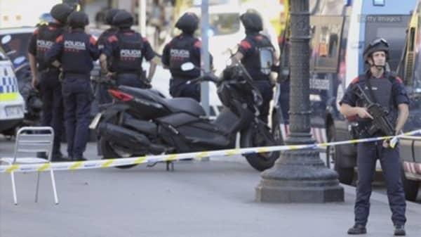 Barcelona police confirm that van crash was terror attack