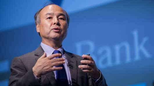 SoftBank Group Corp. founder, Chairman and CEO Masayoshi Son.