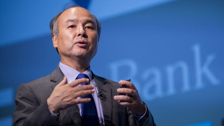 SoftBank Group Corp. founder, Chairman and CEO Masayoshi Son.