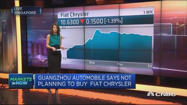 Fiat Chrysler still looking for merger partner