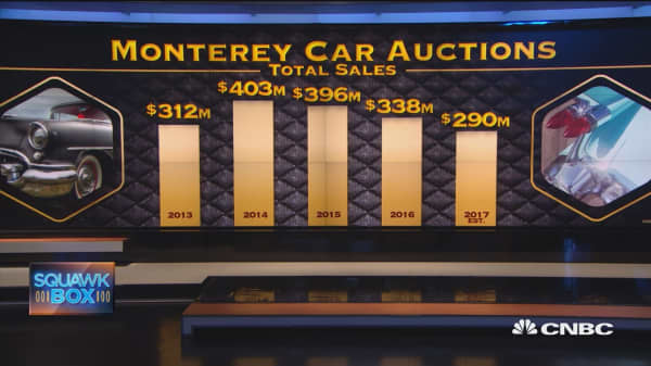 Pebble Beach's 'holy grail' of classic cars on the auction block