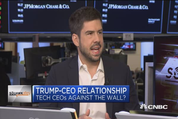 Tech CEOs facing a 'fine line' on politics: Recode's Jason Del Rey