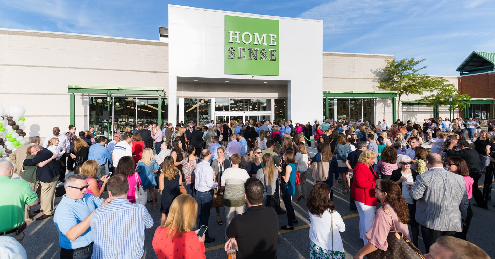 . TJX  the owner of HomeGoods  just opened its first Homesense