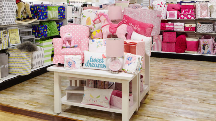Home Goods Store Kids Section.