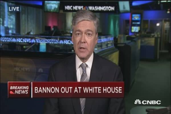 Harwood: Not much substantive difference with Bannon gone