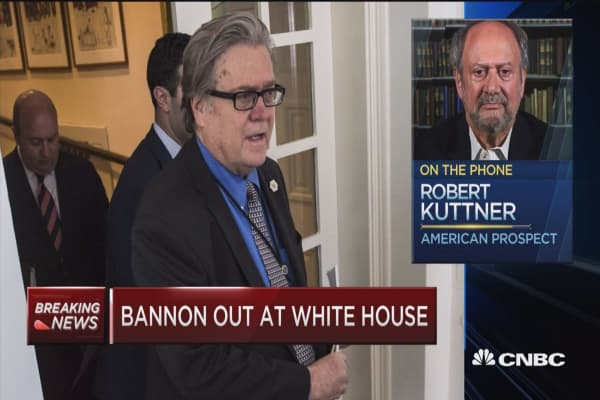 Kuttner: I wanted to give Bannon enough rope, if you will