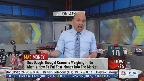 Cramer names the stock group you never want to see rally in a downturn